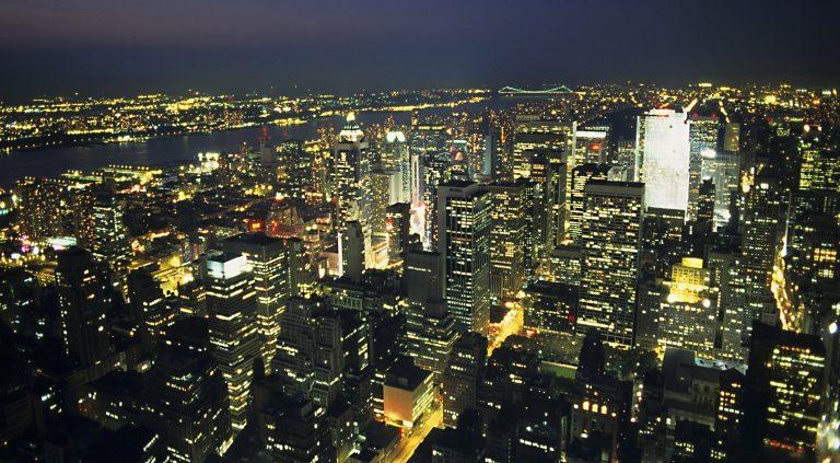 Skyline of New York.United States