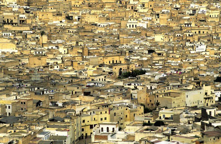 Medina of Fes. Morocco